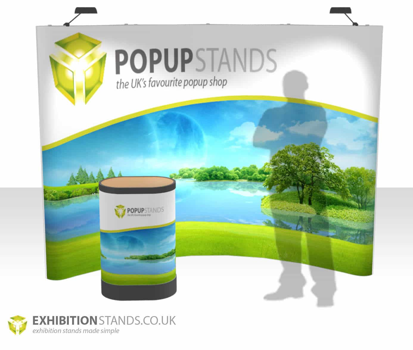 Exhibition Stand Eco : Eco popup stand exhibition stands