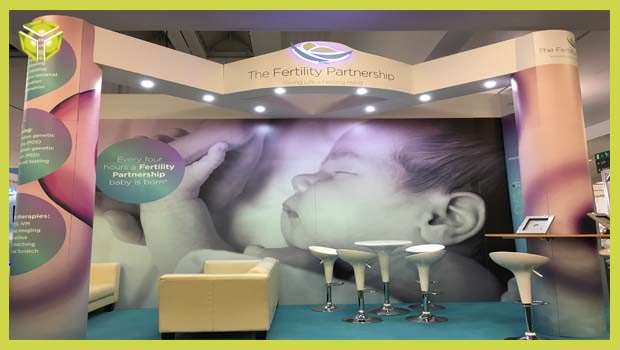 seamless graphic expo stand