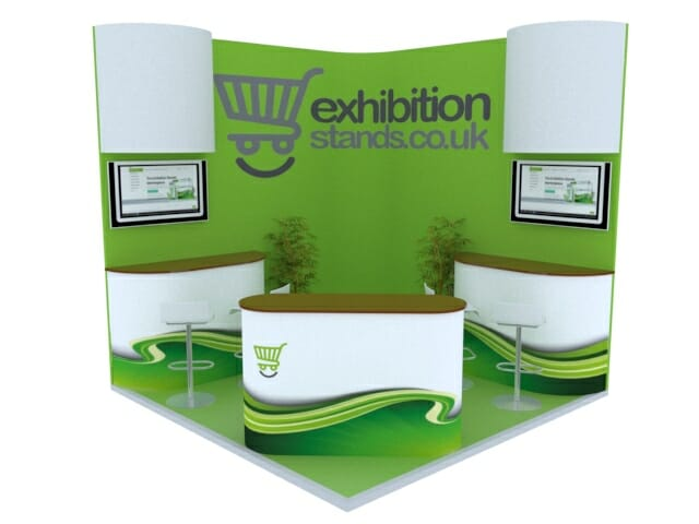 3x3 exhibition displays booth stands