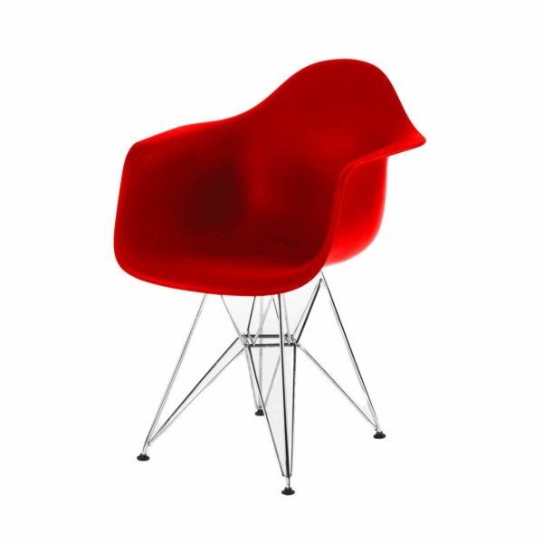red dsr chair